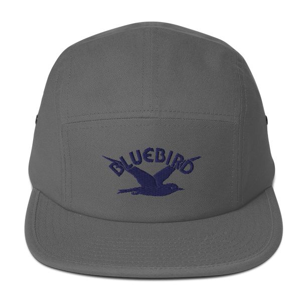 'Bluebird Records®' Embroidered Five Panel Cap (Victorville Collection®)