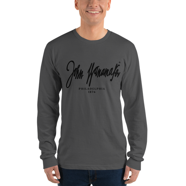 'John Wanamaker' Logo Long sleeve t-shirt