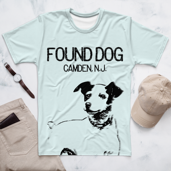 'Found Dog/Camden NJ' Men's T-shirt (Victorville® Collection)