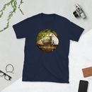 HMV® (Little Nipper Stained Glass) Short-Sleeve Unisex T-Shirt (Victorville® Collection)