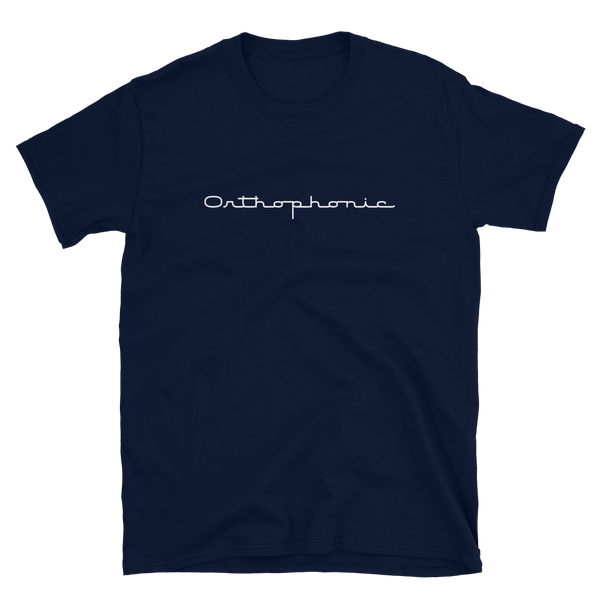 'Orthophonic' Victor Short-Sleeve Unisex T-Shirt (Victorville® Collection)