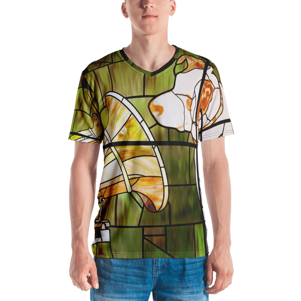 HMV® (Little Nipper Stained Glass) Men's T-shirt (Victorville® Collection)