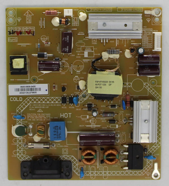 0500-0605-0400 - Power Supply Board - Vizio