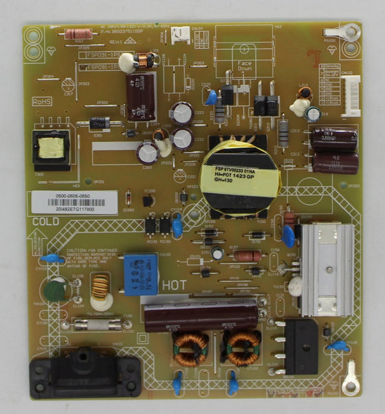 0500-0605-0650 - Power Supply Board - Vizio