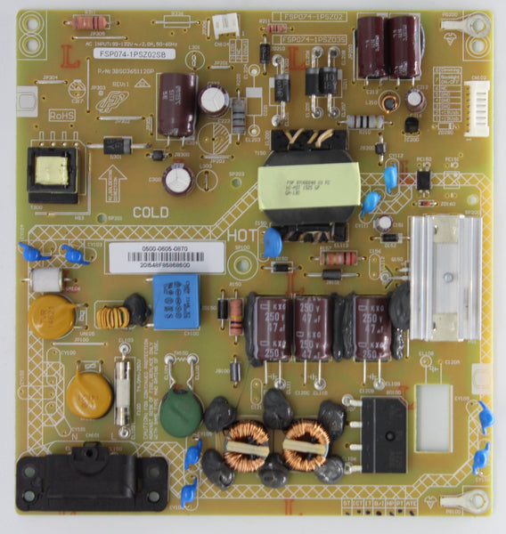 0500-0605-0870 - Power Supply Board - Sharp