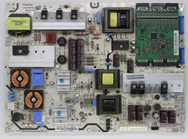 0500-0612-0020 - Power Supply Board - Vizio