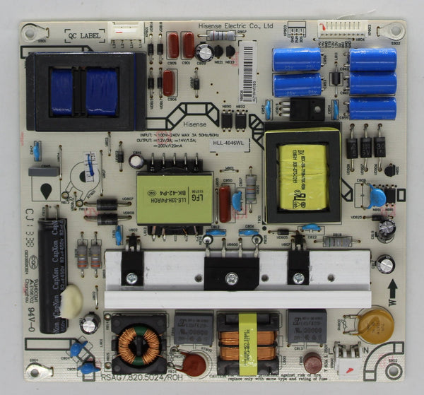 166034 - Power Supply Board - Hisense