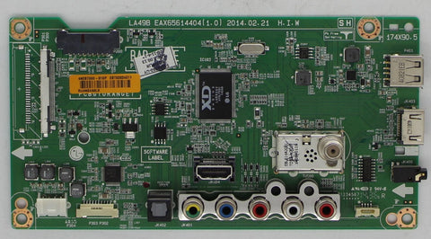 Ebt63034611 - Main Board - Vizio