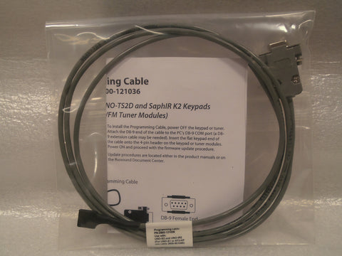 Programming Cable - - Russound