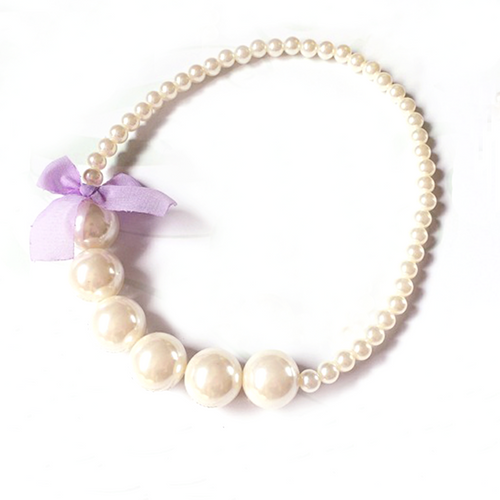 Girls Pearl Necklace - ARIA KIDS