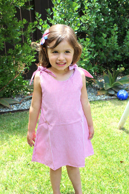July Tie Knot Dress (*Exclusive*) - ARIA KIDS