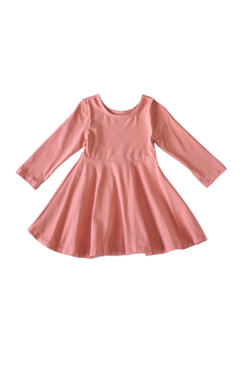 Pink twirl dress - ARIA KIDS