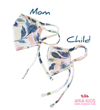 Mommy & Me - Floral Face Mask - ARIA KIDS