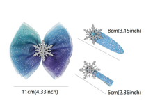 Frozen Inspired Hair Clip 5-Piece Gift Set - ARIA KIDS