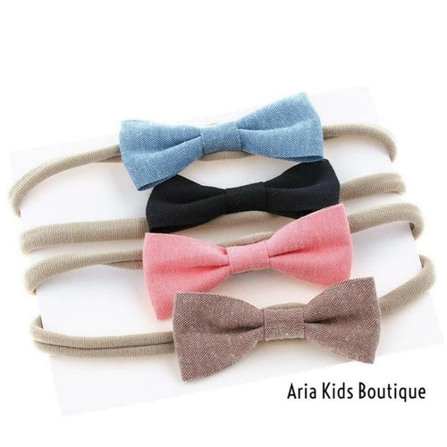 Baby Bow Headband - 4 Piece Set - ARIA KIDS