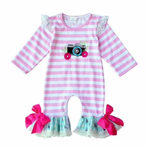 The Heather Vintage Romper - ARIA KIDS