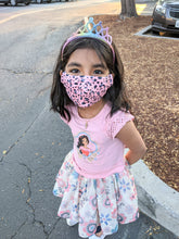 Mommy & Me - Pink Leopard Face Mask - ARIA KIDS