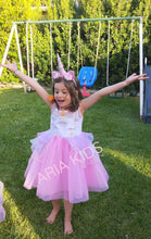 """My Unicorn Princess"" Floral Tutu Dress - 4 Colors (RTS) - ARIA KIDS"