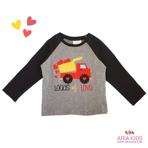 Loads of Love Boys Raglan Shirt - ARIA KIDS