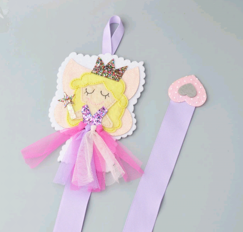 Fairy Tutu Hair Clip Organizer Holder - ARIA KIDS