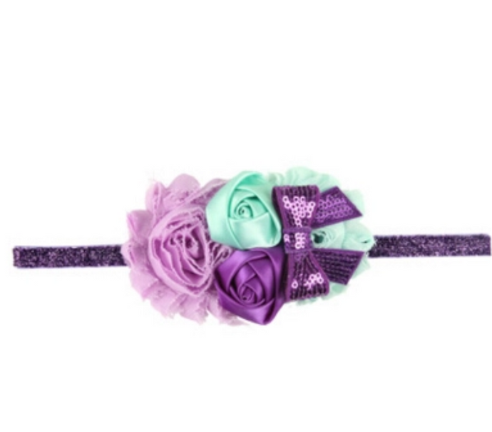 Mermaid Hairband Purple & Mint Green - ARIA KIDS