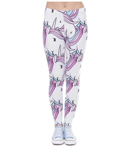 Ladies Unicorn Leggings - ARIA KIDS