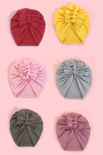 Baby Bow knit hat Hair Wrap - ARIA KIDS