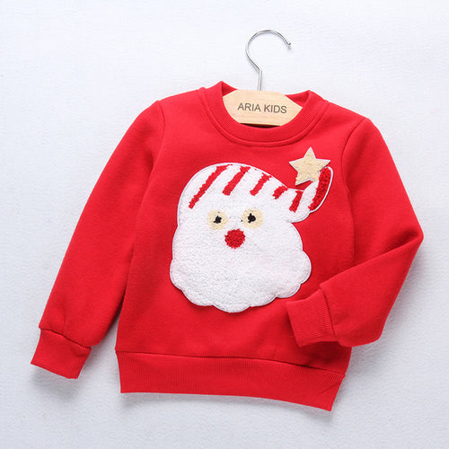 Gender Neutral Christmas Santa Sweater - ARIA KIDS