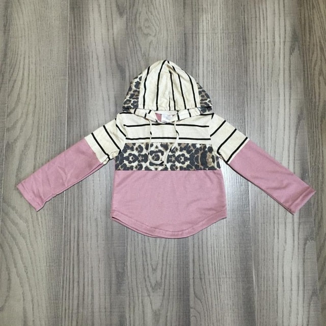 Mommy & Me Hoodies - Leopard & Stripes - ARIA KIDS