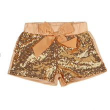 """Sparkle"" Girls Sequin Shorts - ARIA KIDS"