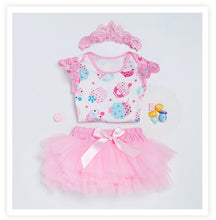 """Kyra"" Cupcake 3-Pc Birthday Set - ARIA KIDS"
