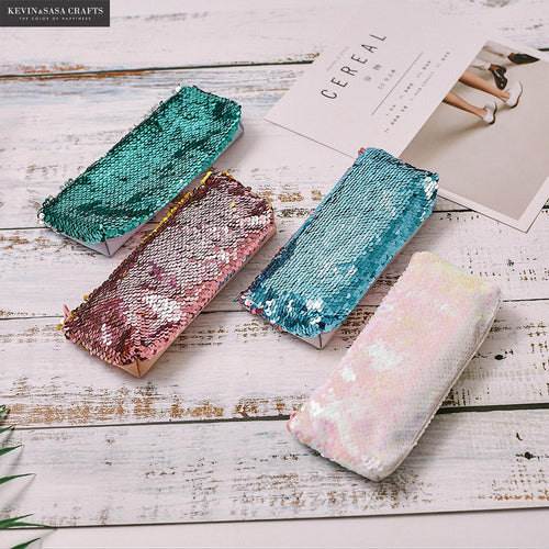 Reversible Sequin Pencil Cases - ARIA KIDS