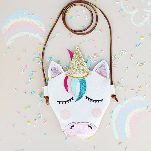 Unicorn Metallic String Bag - ARIA KIDS