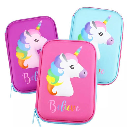 Believe Unicorn Pencil Case - ARIA KIDS
