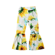 Sunflower Bell-Bottom Pants - 2 Colors - ARIA KIDS