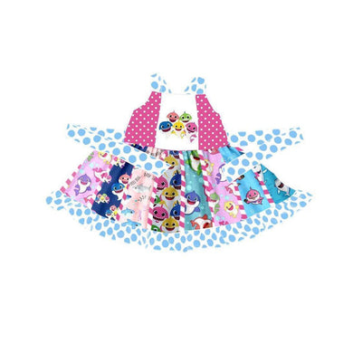 Baby Shark Twirl Dress - ARIA KIDS