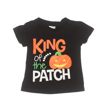 King of The Patch Boys Halloween Pumpkin Patch Shirt - ARIA KIDS