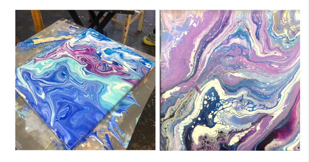 Acrylic Pouring Class