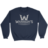 Women's Crewneck Sweatshirt - Gray Logo $21.99