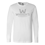 Men's Long Sleeve Shirt - Gray Logo $16.99