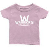 Infant T-Shirt - White Logo $12.99