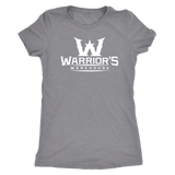 Women's Triblend Shirt - White Logo $14.99