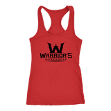 Women's Racerback Tanks - Black Logo $12.99
