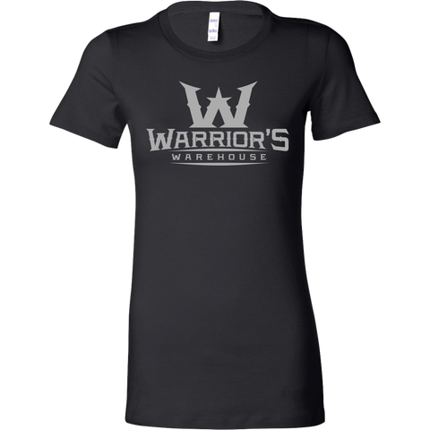 Women's Shirt - Gray Logo $14.99