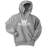 Youth Hoodie - White Logo $21.99