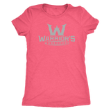 Women's Triblend Shirt - Gray Logo $14.99
