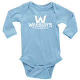 Infant Long Sleeve Onsie - White Logo - $14.99