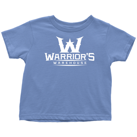 Toddler T-Shirt - White Logo $12.99