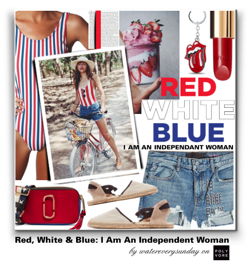 Red, White & Blue: I am an Independent Woman