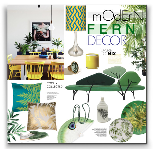 Modern Fern Decor